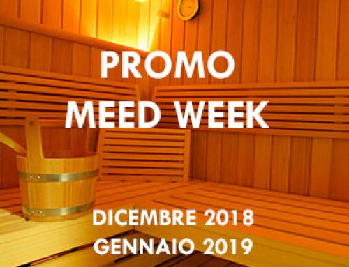 """PROMO MEED WEEK "" DICEMBRE -GENNAIO 2019"